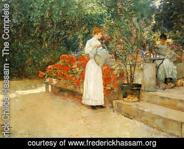 Frederick Childe Hassam - After Breakfast