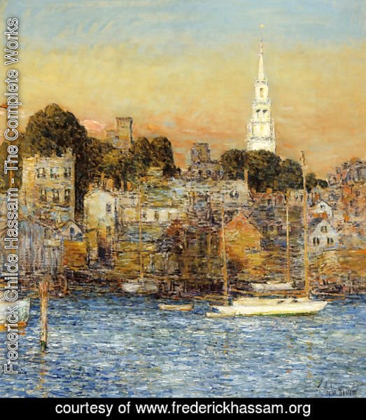 Frederick Childe Hassam - Newport, October Sundown