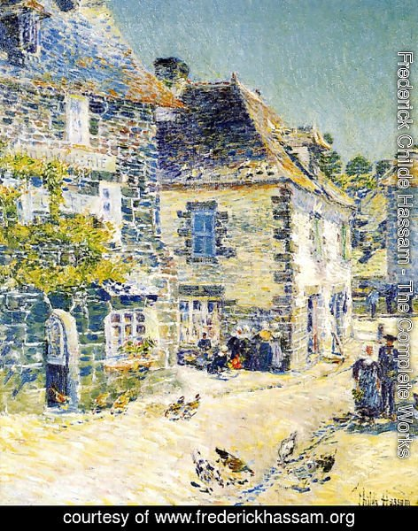 Frederick Childe Hassam - Pont-Aven, Noon Day