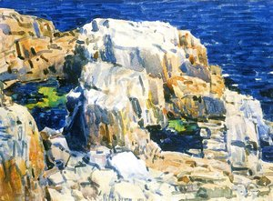 Frederick Childe Hassam - Rocks at Appledore