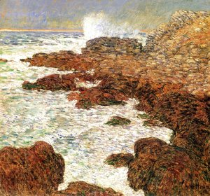 Frederick Childe Hassam - Seaweed and Surf, Appledore