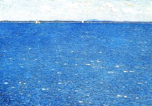 Frederick Childe Hassam - West Wind, Appledore