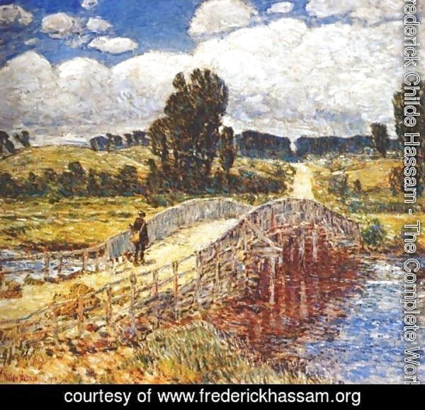 Frederick Childe Hassam - Bridge at Old Lyme