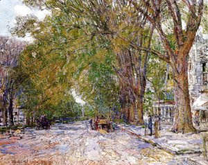 Frederick Childe Hassam - Elms, East Hampton, New York