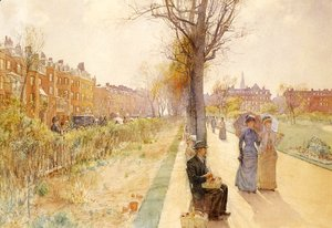 Frederick Childe Hassam - Boston Common