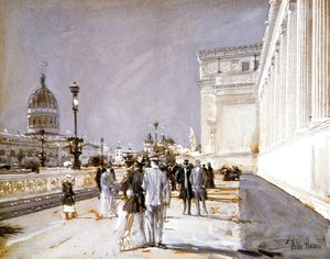 Frederick Childe Hassam - World's Fair, Chicago