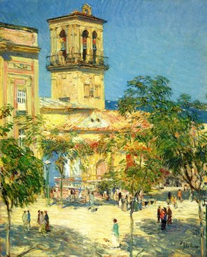 Frederick Childe Hassam - Street of the Great Captain, Cordoba