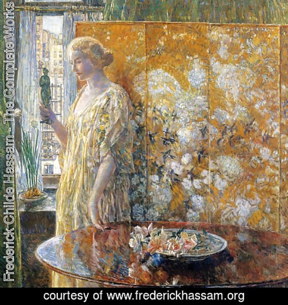 Frederick Childe Hassam - Tanagra: The Builders, New York
