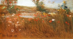 Frederick Childe Hassam - Poppies, Isles of Shoals III