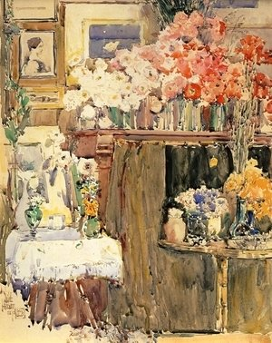 Frederick Childe Hassam - The Altar and the Shrine