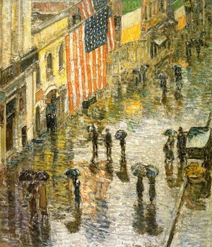 Frederick Childe Hassam - St. Patrick's Day, 1919