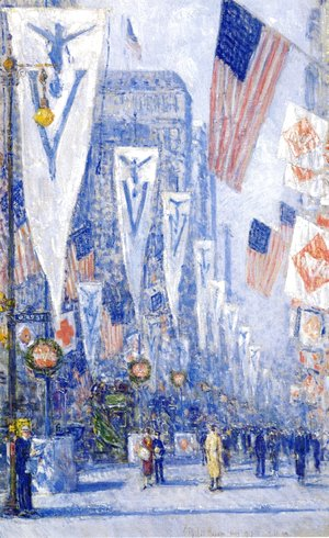 Frederick Childe Hassam - Victory Day, May 1919