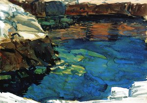 Frederick Childe Hassam - The Cove