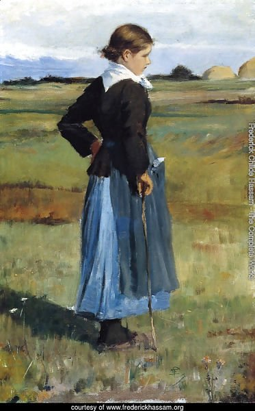 French Peasant Girl