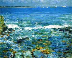 Frederick Childe Hassam - Duck Island from Appledore