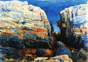 Frederick Childe Hassam - The Gorge, Appledore