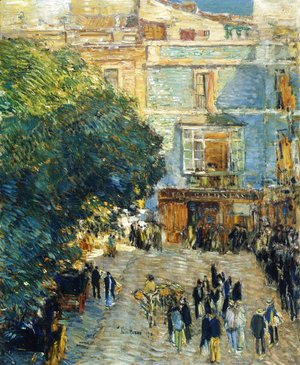 Frederick Childe Hassam - Square at Sevilla