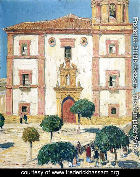Frederick Childe Hassam - Cathedral at Ronda
