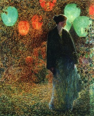 Frederick Childe Hassam - July Night
