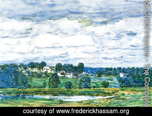 Frederick Childe Hassam - Newfields, New Hampshire