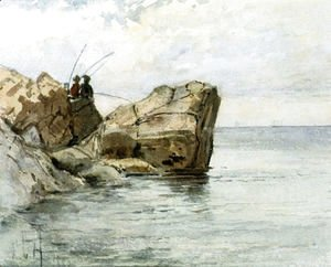Frederick Childe Hassam - Young Fishermen
