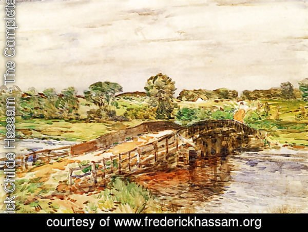 Frederick Childe Hassam - Bridge at Old Lyme I