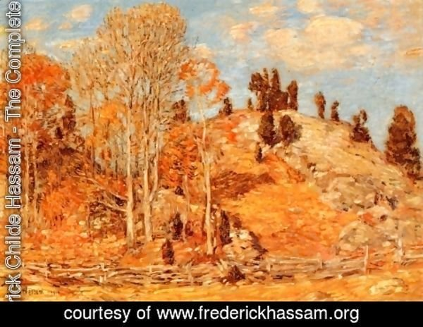 Frederick Childe Hassam - The Cedar Lot, Old Lyme