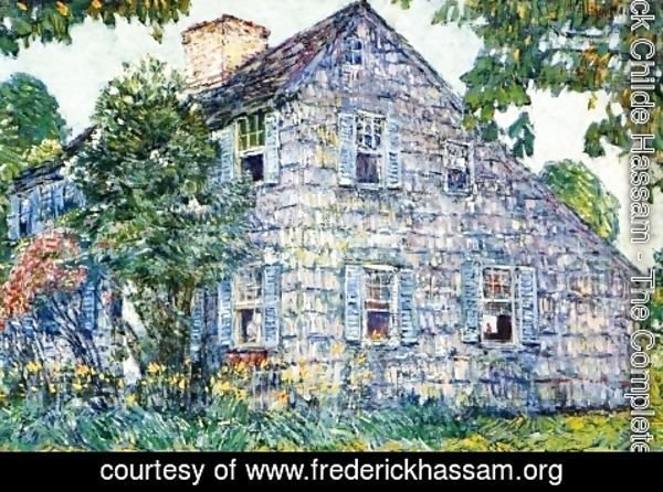 Frederick Childe Hassam - Old House, East Hampton
