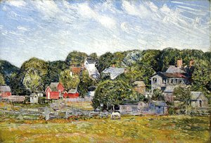 Frederick Childe Hassam - Amagansett, Long Island, New York