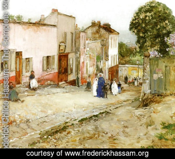 Frederick Childe Hassam - Confirmation Day