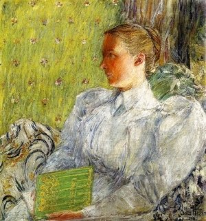 Frederick Childe Hassam - Edith Blaney (Mrs. Dwight Blaney)