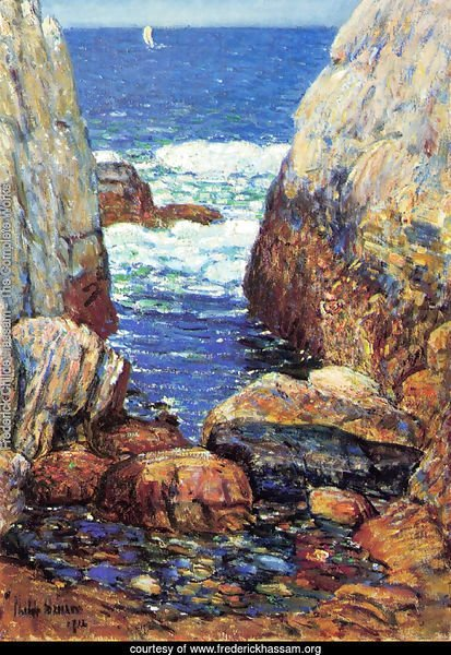 Sea and Rocks, Appledore, Isles of Shoals