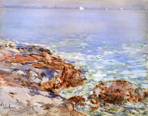 Frederick Childe Hassam - Seascape, Isles of Shoals