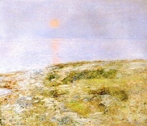 Frederick Childe Hassam - Sunset, Isle of Shoals