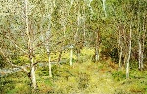 Frederick Childe Hassam - Spring Woods