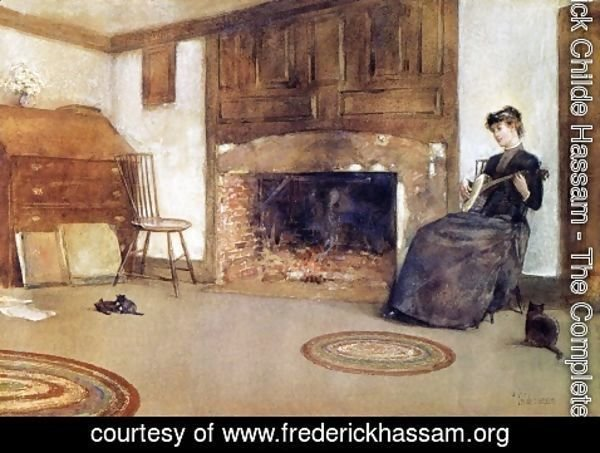 Frederick Childe Hassam - A Familiar Tune