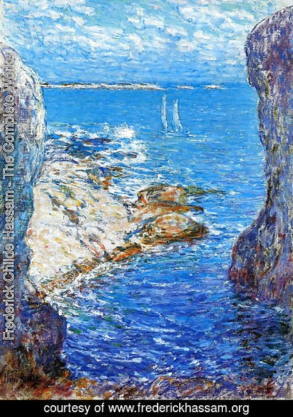 Frederick Childe Hassam - An Isles of Shoals Day