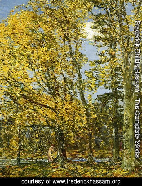 Frederick Childe Hassam - Bather