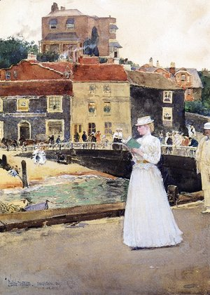 Frederick Childe Hassam - Bleakk House Broadstairs
