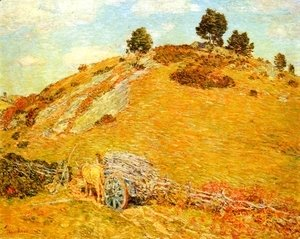 Frederick Childe Hassam - Bornero Hill Old Lyme Connecticut
