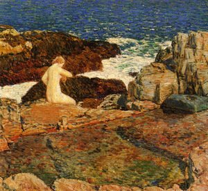 Frederick Childe Hassam - East Headland Pool
