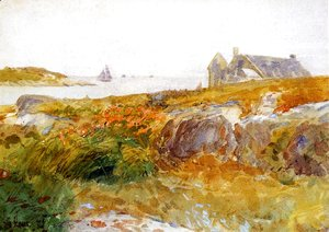 Frederick Childe Hassam - Islea of Shoals6