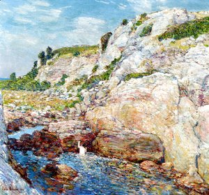 Frederick Childe Hassam - Northeast Gorge at Appledore