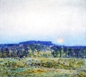 Frederick Childe Hassam - September Moonrise