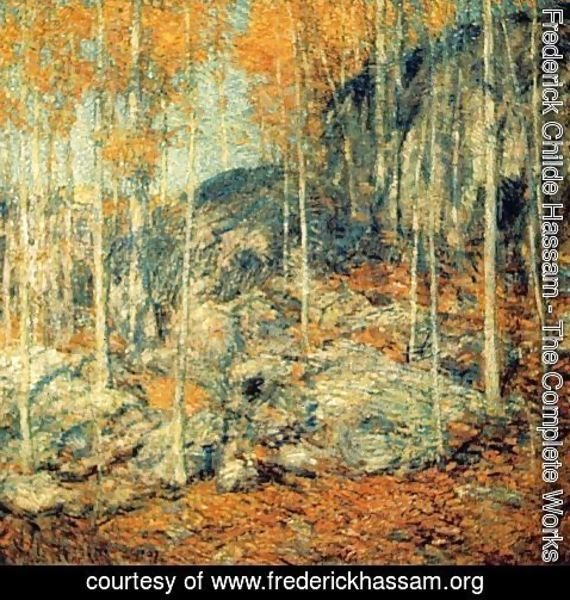 Frederick Childe Hassam - The Ledges