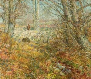 Frederick Childe Hassam - The Stone Bridge, Old Lyme