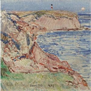 Frederick Childe Hassam - Montauk Light