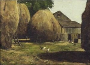 Frederick Childe Hassam - Haystacks