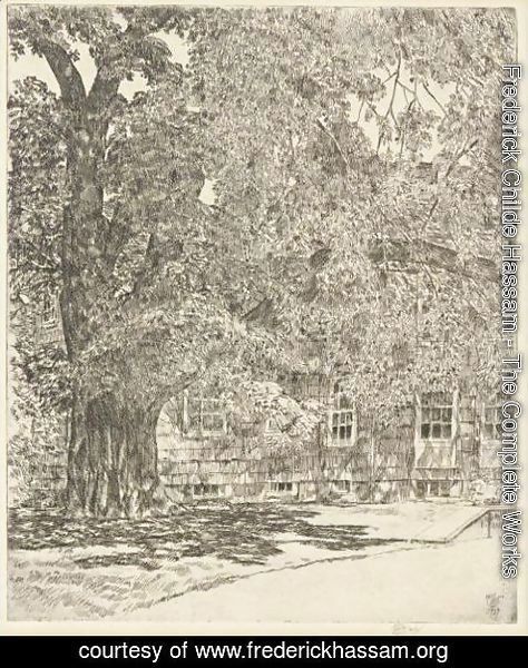Frederick Childe Hassam - Old Mulford House
