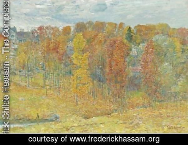 Frederick Childe Hassam - Autumn
